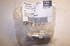 NEW HYSTER 20 X 20 NIPPLE FITTING 0017241 / HY17241