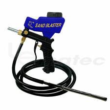 LEMATEC Sandblaster Gun With Siphon Feed and Gravity Sandblasting Gun With Hose