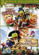 The Muppet Christmas Carol / Muppet Treasure Island DVD UK Release New Sealed R2