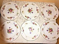 aladdin, dresdenia, occupied japan fine china 6.5'' bread and butter plates, set