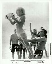 YOUNG SEXY CHRIS NOEL IS HAVING A BEACH BALL ORIG BEACH PARTY FILM STILL