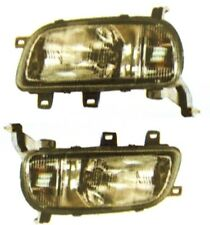 FITS NISSAN MICRA K11 MODEL 1993 97 FRONT HEAD LIGHTS PAIR LEFT RIGHT LHD