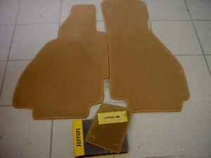 Classic Brown Velours Floormats for Ferrari 308 GTS 1975-1984