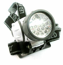 Head Lamp Torch Light 19 LED 4 Settings for Camping Fishing TO177