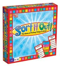 Sort It Out! - The Game of Putting Things in Order by University Games NEW