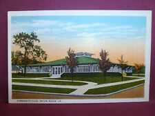 Baton Rouge LA old postcard