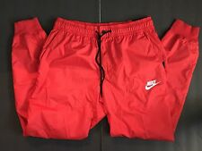 NEW Nike Sportswear Mens WindRunner Windbreaker Pants LARGE Red 898403 657