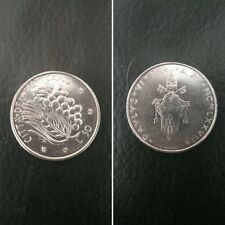 Città del Vaticano moneta 50 lire Papa Paolo VI del 1977