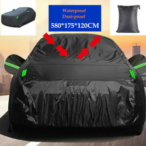 Car Cover Waterproof Dust-proof UV Resistant Outdoor All Weather Protection Kit