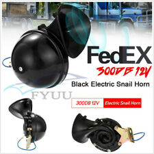 Super Loud 12v Car Suv Boat Train Motorcycle 300db Electric Snail Horn Universal