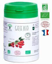 GOJI BIO 60 GELULES COMPLEMENT ALIMENTAIRE NUTRITION BIOPTIMAL ANTI-AGE VITAMINE