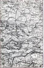 Bleicherode Mackenrode 1936 Teilkarte/Ln. Sollstedt Steinrode Trebra Hohenstein