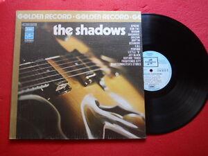 "RARE LP - 33T  GOLDEN RECORD"" THE SHADOWS EMI FRANCE REISSUE 1978"