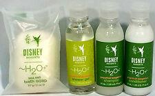 WDW DisneyResort H2O+ GRPFRUIT BRGMOT SHAMPOO CNDTNR SHWR GEL SOAP TRAVL SZ SET