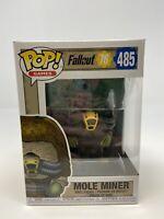 NEW Funko Pop #485 Fallout 76 Mole Miner Vinyl Figure FP20