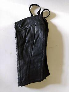 Vintage Wilson Leather Corset Top size xs