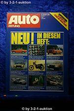 Auto Zeitung 8/76 Opel Kadett Aero Volvo 343 Fiat Abarth 131 Rally BMW 320