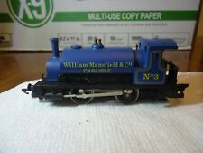 HornbyPug Steam Locomotive 0-4-0 William Mansfield & Co #3, Blue