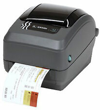 Gx43-102520-000 Zebra Gx430t Label Printer 300dpi USB Parallel Serial