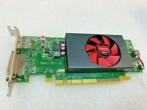 AMD Radeon HD8490 1GB DDR3 OUGA11 REV 1.01 109-C55357-00_02 DVI DP LOW PROFILE