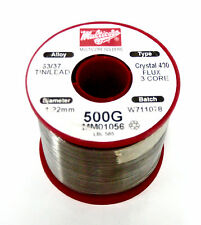 NEW! Multicore Wire Solder 63/47 Tin/Lead - Crystal 400 (1.22mm Diameter)