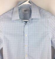 Charles Tyrwhitt Non Iron Slim Fit Mens Button Down Long Sleeve Shirt French Cuf