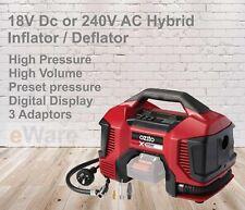Ozito PXC 18V / 240V Hybrid Inflator / Deflator - Skin Only