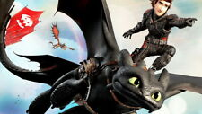 """034 How to Train Your Dragon 3 - The Hidden World Hiccup Movie 24""""x14"""" Poster"""