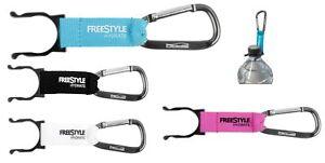 Spro Freestyle Hydrate Bottle Clip Flaschenhalter Black Blue White Pink NEW OVP