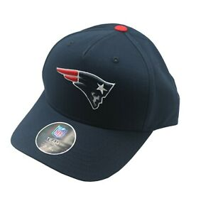 New England Patriots Youth Boys One Size Fits Most Adjustable hook loop Hat Cap