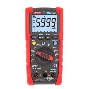 Uni-t UT191E True RMS multimeter 6000 Count DMM 600V 20A  Ammeter LPF LoZ Tester