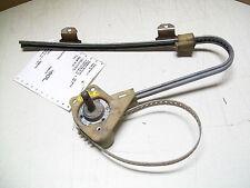 1991 Regal Rear Drivers Door Manual (crank) Window Regulator