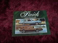 Catalogue / Brochure BUICK Skylark & Skyhawk 1978 //