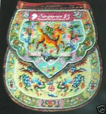 Singapore stamps - Special shape Peranakan beads Sheet very Rare MNH