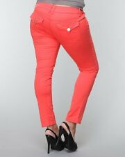 BABYPHAT BRITNEY SEXY TWILL CROP PANTS IN 18W