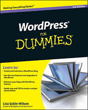 WordPress For Dummies by Lisa Sabin-Wilson (Paperback, 2010)