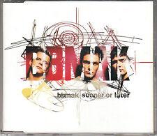 BBMAK SOONER OR LATER SAMPLER 14 track CD TCD3179X Christian Burns Ste McNally