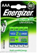 8 x Energizer AAA Micro Akku NiMH 500mAh Blister - Ideal für Telefone OVP