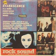 EVANESCENCE-PENNYWISE-SEPULTURA-MOOG cd promo Italy