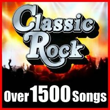 Greatest Hits of CLASSIC ROCK Collection Over 1500 MP3 Songs lot 37 Artists