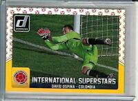 2015 Donruss Soccer David Ospina Superstars Red Ball SP #01/49 Arsenal Columbia