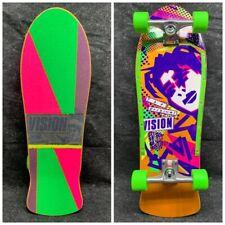 Complete Mark Gonzales Face 1986 Reissue Skateboard Deck Orange Powell Rat Bones