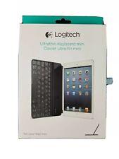 Logitech Wireless Ultrathin Keyboard Cover for iPad mini 920-005021 - Black