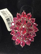 Niassa Ruby Sterling Silver Ring (Size 7.0) TGW 15.730 cts