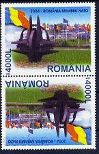 2004 NATO Emblem Sculpture Brussels,OTAN,Flags,Romania-member NATO,5806,TB/B,MNH