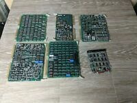Lot of 6 Unknown PCB boards Data General Untested For parts or repair.