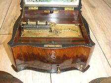 """Polyphon Spieluhr 20 Platten 20,7cm Spieluhr antique music box 20 discs 8 1/4"""""""