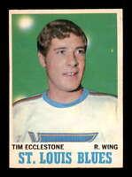 1970 O-Pee-Chee #102 Tim Ecclestone  EXMT/EXMT+ X1627925