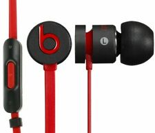 Genuine Beats by -Dr Dre iBeats urBeats In Ear Headphones Earphones black in Red
