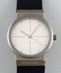 Jacob Jensen lady watch. Titanium case. Ø 28 mm.